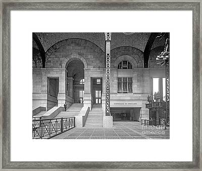 Concourse Exit To 33rd St Framed Print by Russ Brown