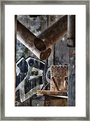 Concrete Central 8 Framed Print by Chuck Alaimo