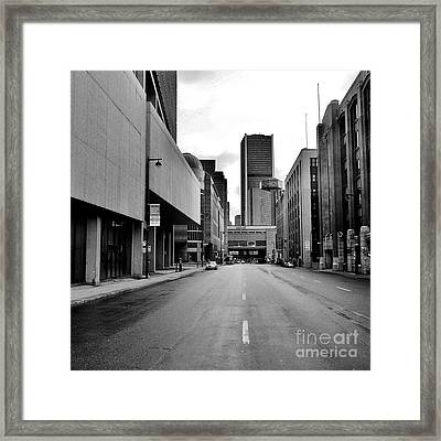 Concrete Jungle Framed Print by Reb Frost