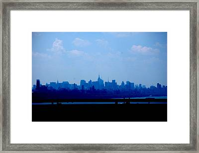 Concrete Jungle  Framed Print by Samantha  Backhaus