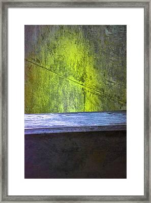 Concrete Love Framed Print by Raymond Kunst