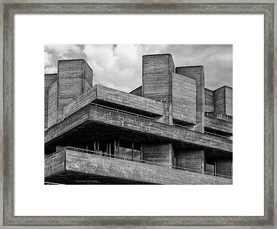 Concrete - National Theatre - London Framed Print