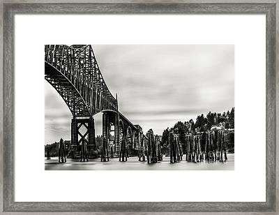 Conde Mc Cullough Bridge Framed Print