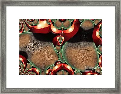 Condensation Framed Print by Ron Bissett