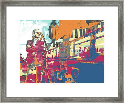 Conditional Framed Print by Shay Culligan