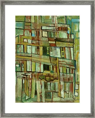 Framed Print featuring the painting Condo by Paul McKey