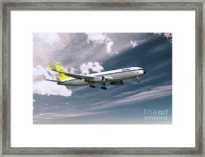 Condor Boeing 767-300  Framed Print