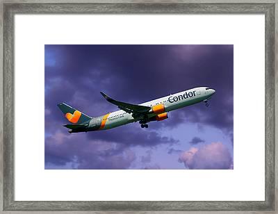 Condor Boeing 767-3q8 Framed Print