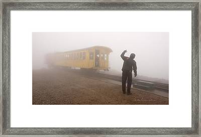 Conductor In The Clouds 7195 Framed Print by Dan Beauvais