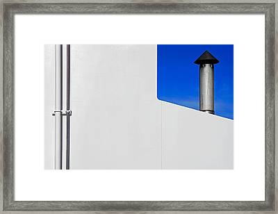 Framed Print featuring the photograph Conduits by Richard George