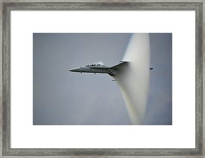 Cone Framed Print by Darek Siusta