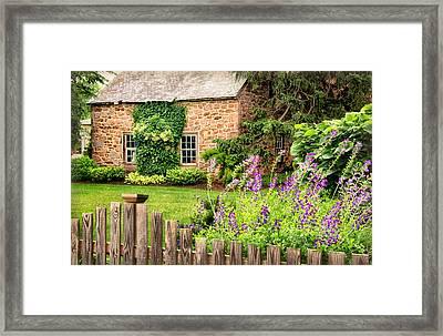 Conestoga Garden  Framed Print