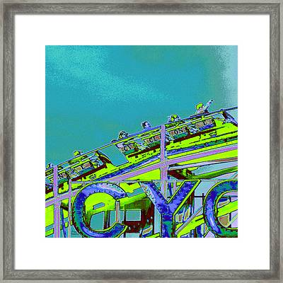 Coney Iland Cyclone II Framed Print