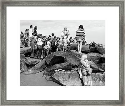 Coney Island, New York  #234972 Framed Print