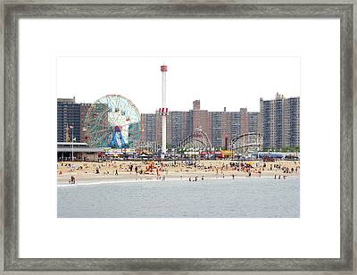 Coney Island, New York Framed Print by Ryan McVay