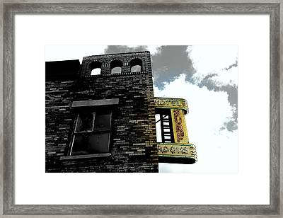 Coney Island Past  Framed Print by Bella Rodriguez