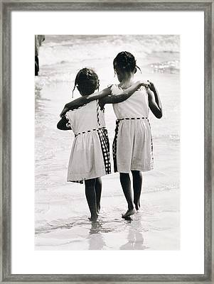 Coney Island Sisters Framed Print by Nat Herz