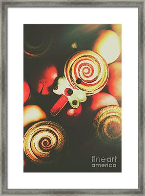 Confection Nostalgia Framed Print