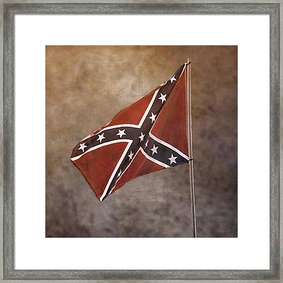 Confederate Battle Flag Framed Print