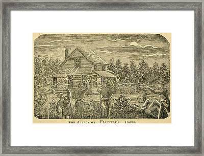 Confederate Bushwhackers Guerillas, Led Framed Print