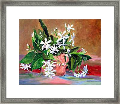 Confederate Jasmine Framed Print by Jimmie Trotter