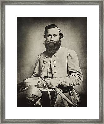 Confederate Jeb Stuart Framed Print by Paul W Faust -  Impressions of Light