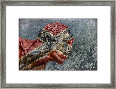 Confederate Veteran  Framed Print