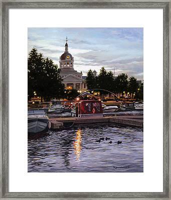 Confederation Park Framed Print