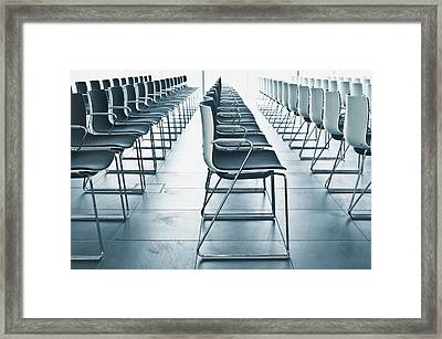 Conference Hall Framed Print