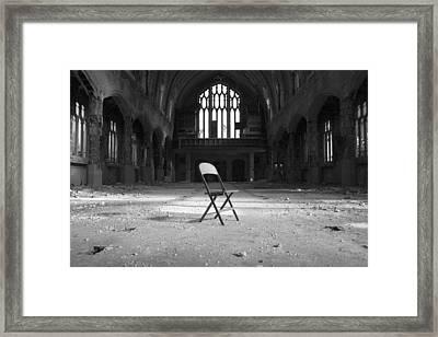 Confess  Framed Print