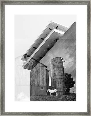 Confessions Of A Distant Corner Framed Print by Char Szabo-Perricelli