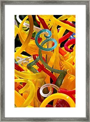 Confetti Framed Print