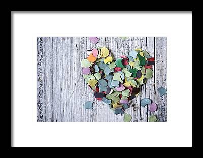 Heart Shaped Framed Prints