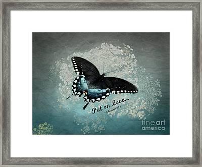 Confidante - Verse Framed Print by Anita Faye
