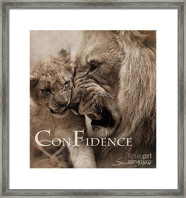 Confidence Framed Print