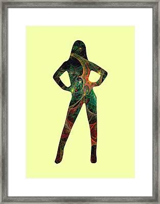 Confident Framed Print by Anastasiya Malakhova