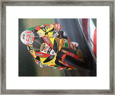 Confident Framed Print by David Houston
