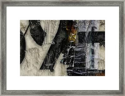Conflate Framed Print