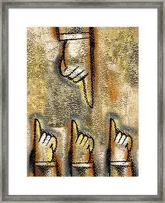 Conflict Framed Print