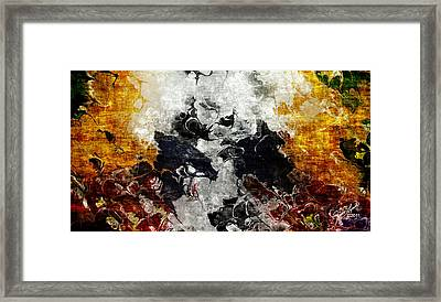 Conflict Framed Print by The Art Of JudiLynn
