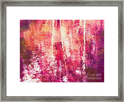Conflicted In The Moment Framed Print by Sybil Staples