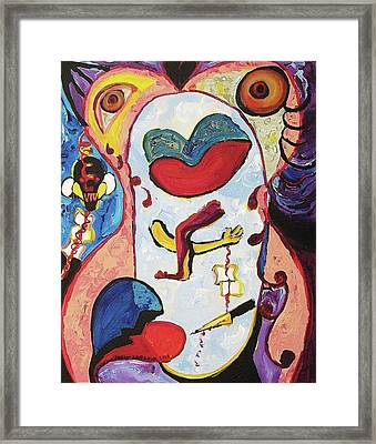 Conflicting Desires Framed Print by Suzanne  Marie Leclair