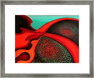 Confluence Framed Print by Bonnie Kelso