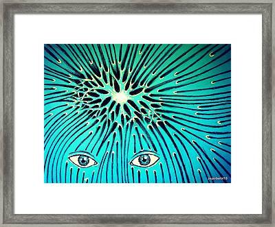 Confluence Framed Print by Paulo Zerbato