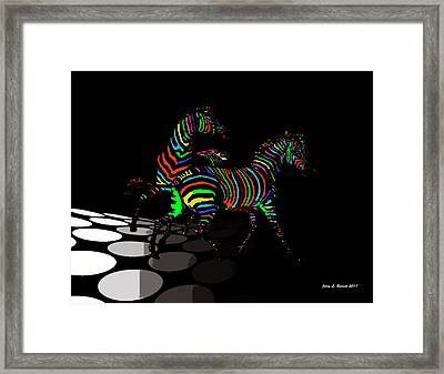 Confused Framed Print by Jerry L Barrett