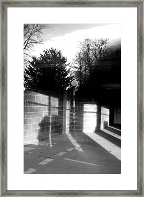 Confused Town 2 Framed Print by Jez C Self