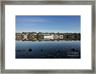 Confusing Reflections Framed Print