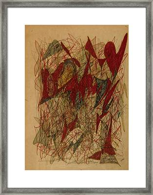 Conglomerate Synthesis  Framed Print