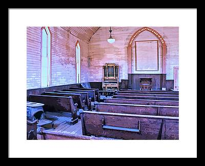 Bodie Ghost Town Mixed Media Framed Prints