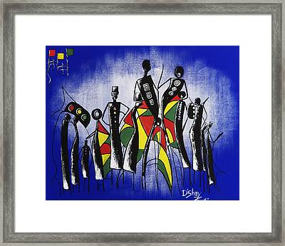 Congregation Of Minds Framed Print by Don MacCarthy